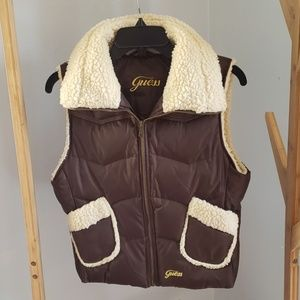 Guess down & feathers puffer vest